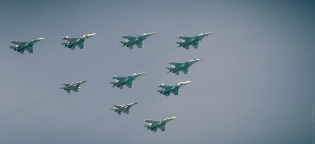 70 Лет Победы (Репетиция парада - Авиация)
